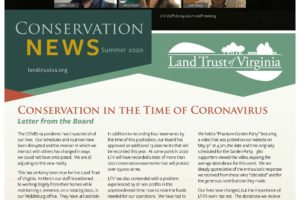 2020 Summer Newsletter of Conservation News